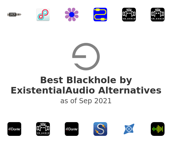 Best Blackhole by ExistentialAudio Alternatives