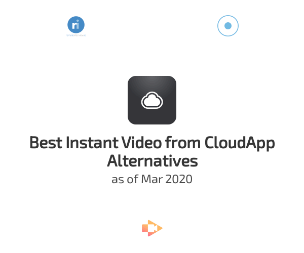 Best Instant Video from CloudApp Alternatives