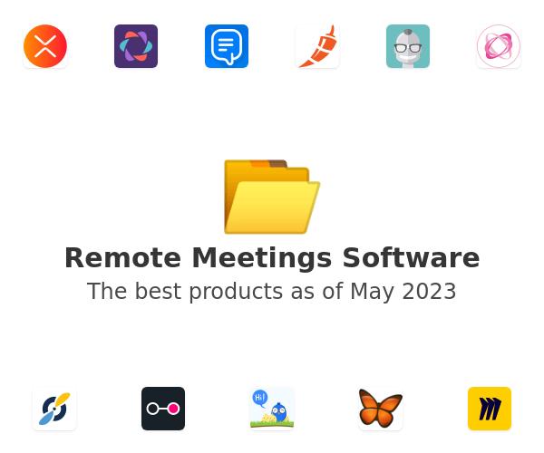 Remote Meetings Software