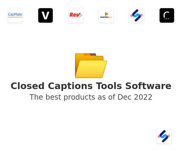 Closed Captions Tools Software