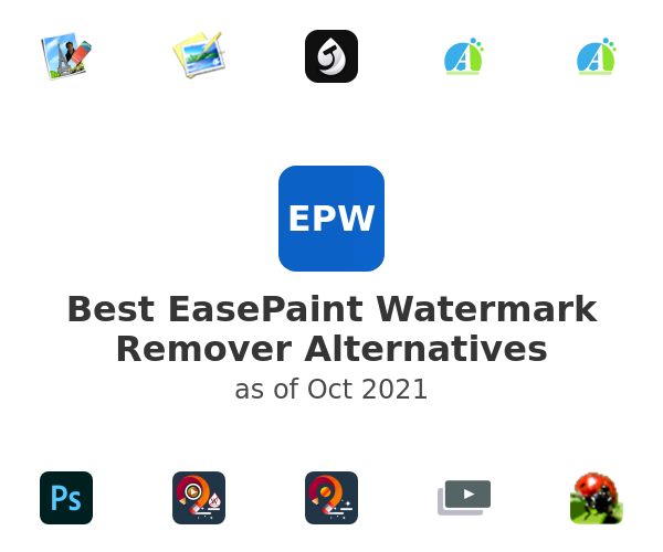 Best EasePaint Watermark Remover Alternatives