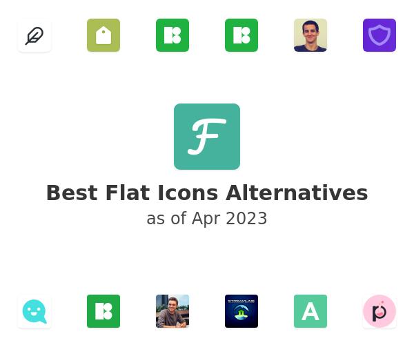 Best Flat Icons Alternatives