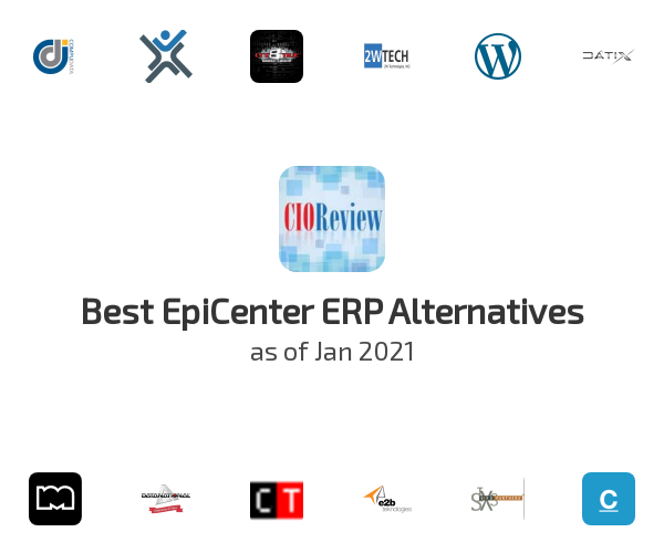 Best EpiCenter ERP Alternatives