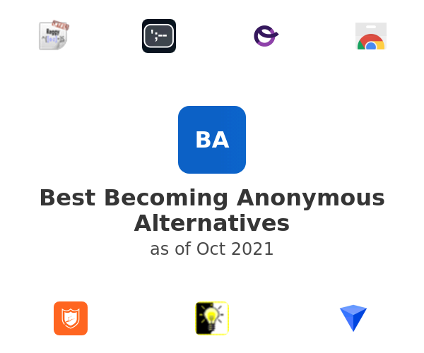 Best Becoming Anonymous Alternatives