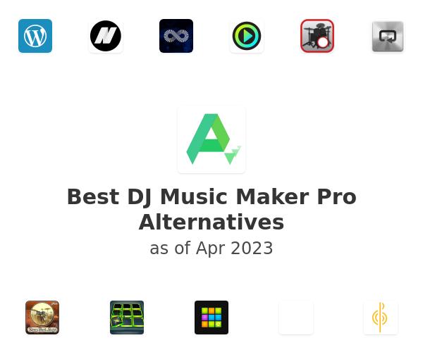 Best DJ Music Maker Pro Alternatives
