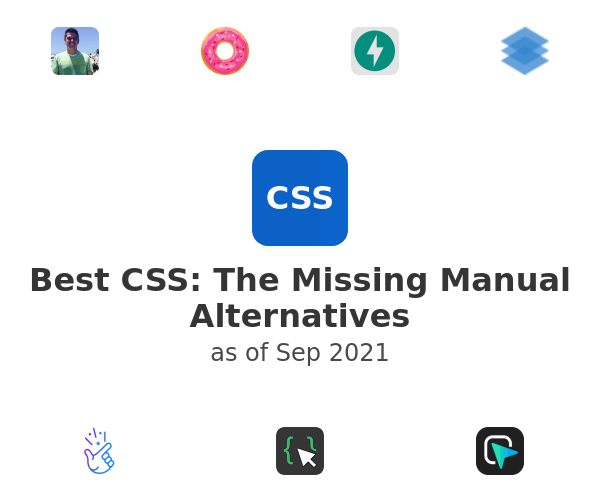 Best CSS: The Missing Manual Alternatives