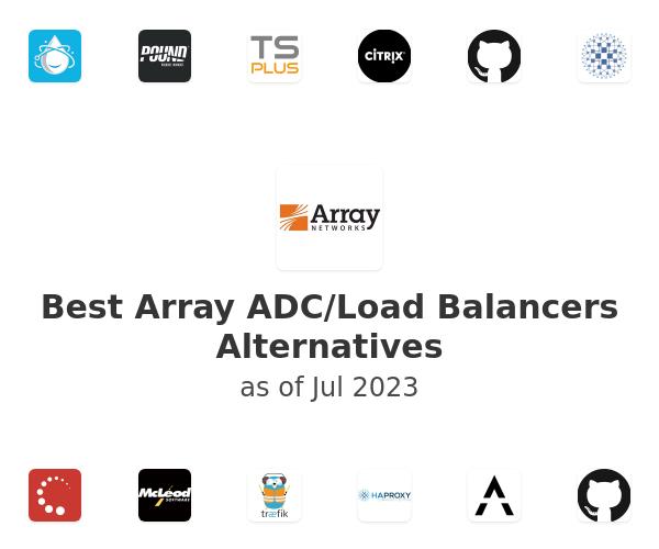 Best Array ADC/Load Balancers Alternatives