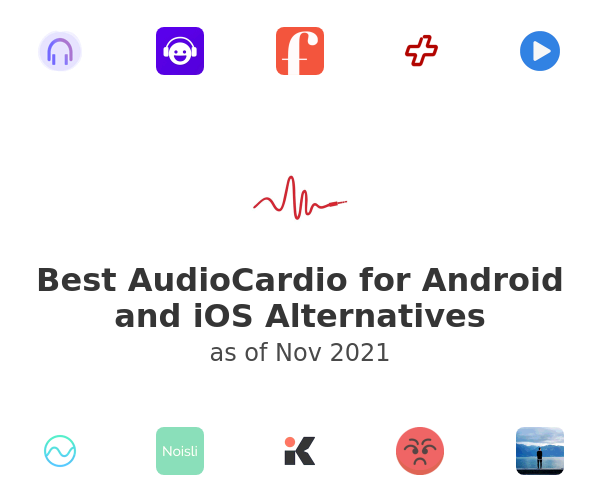 Best AudioCardio for Android and iOS Alternatives