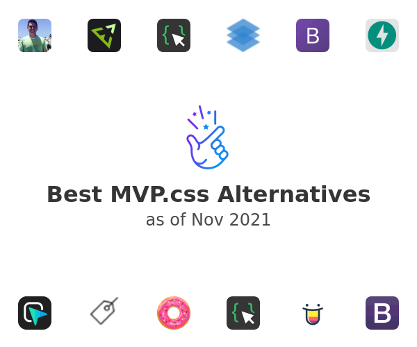 Best MVP.css Alternatives