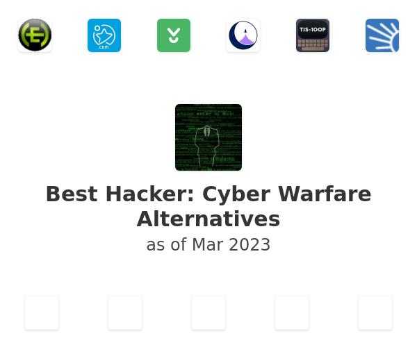 Best Hacker: Cyber Warfare Alternatives