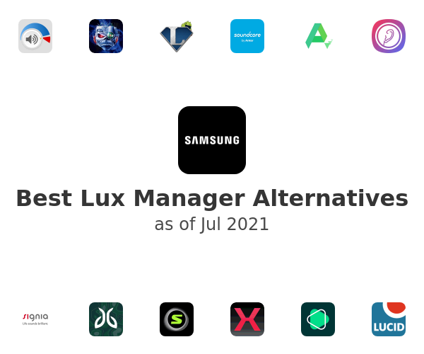 Best Lux Manager Alternatives