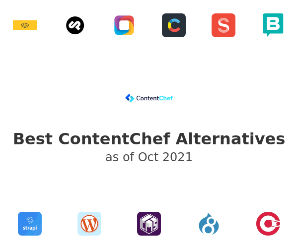 Best ContentChef Alternatives