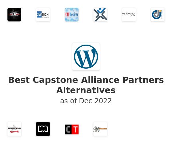 Best Capstone Alliance Partners Alternatives