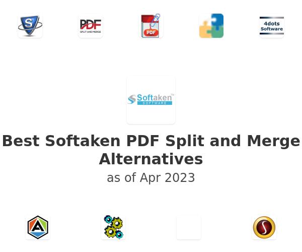 Best Softaken PDF Split and Merge Alternatives