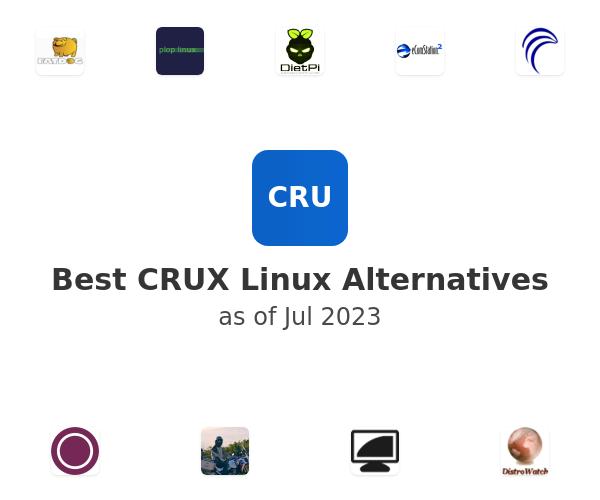 Best CRUX Linux Alternatives