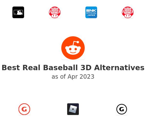 Best Real Baseball 3D Alternatives