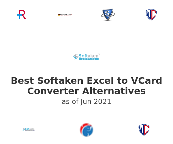 Best Softaken Excel to VCard Converter Alternatives