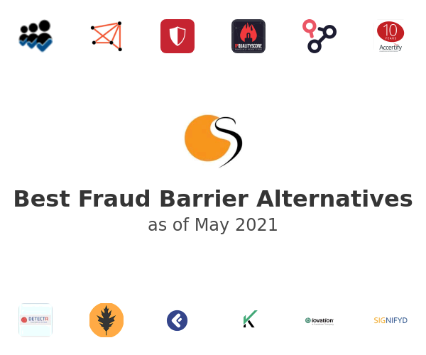 Best Fraud Barrier Alternatives