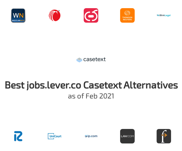 Best Casetext Alternatives