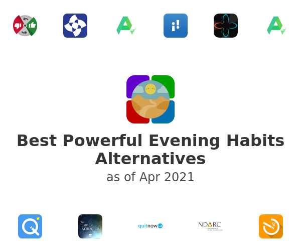 Best Powerful Evening Habits Alternatives
