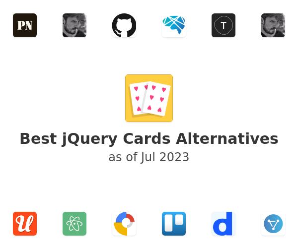 Best jQuery Cards Alternatives