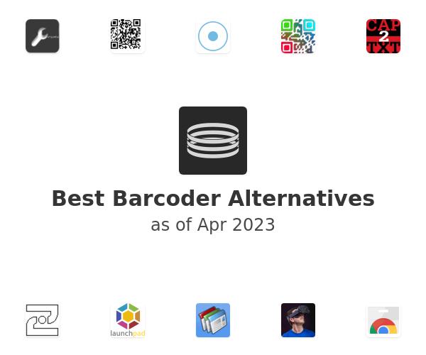 Best Barcoder Alternatives