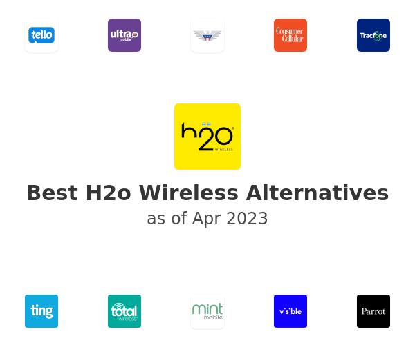 Best H2o Wireless Alternatives