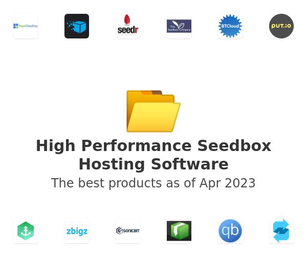 High Performance Seedbox Hosting Software