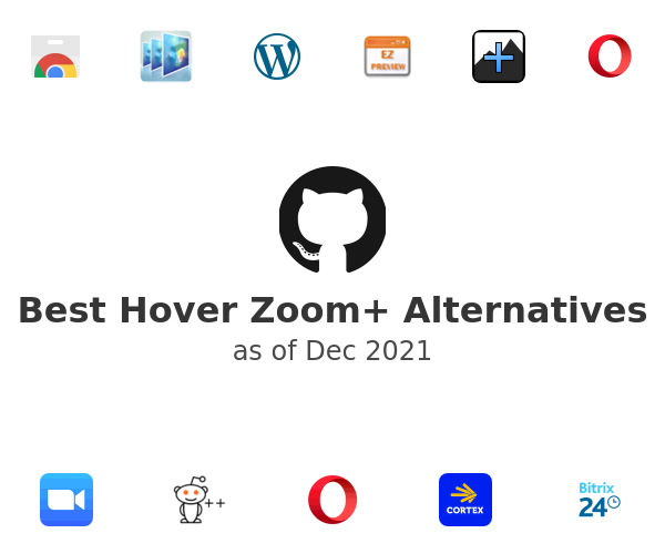 Best Hover Zoom+ Alternatives