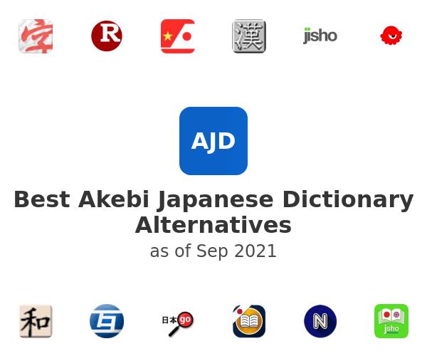 Best Akebi Japanese Dictionary Alternatives