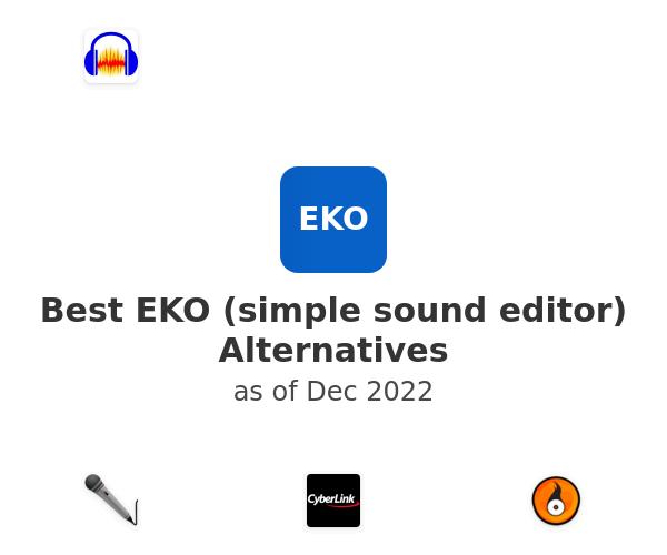 Best EKO (simple sound editor) Alternatives