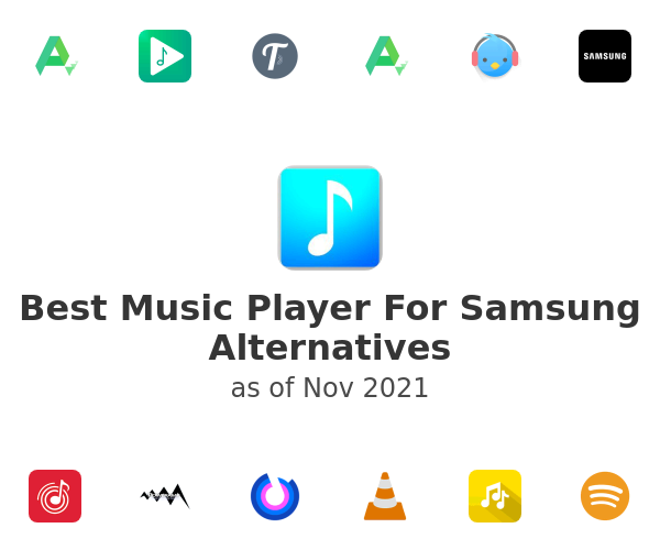 Best Music Player For Samsung Alternatives
