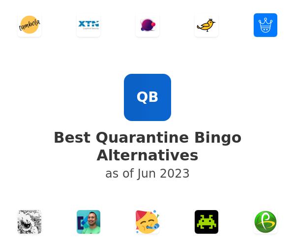 Best Quarantine Bingo Alternatives