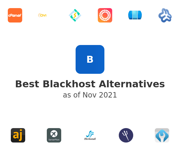 Best Blackhost Alternatives