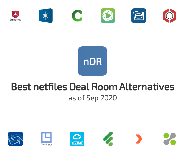 Best netfiles Deal Room Alternatives