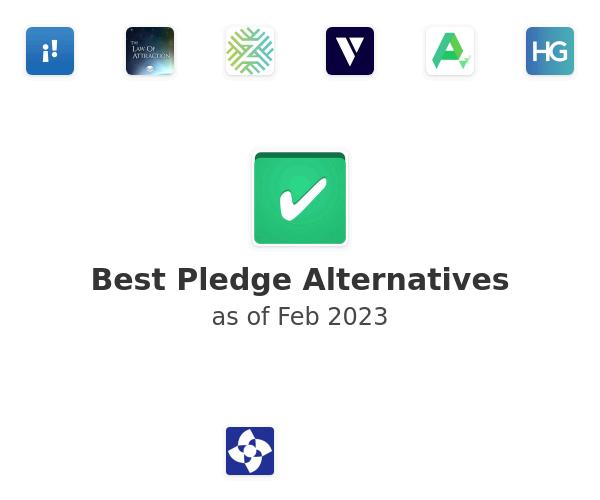 Best Pledge Alternatives