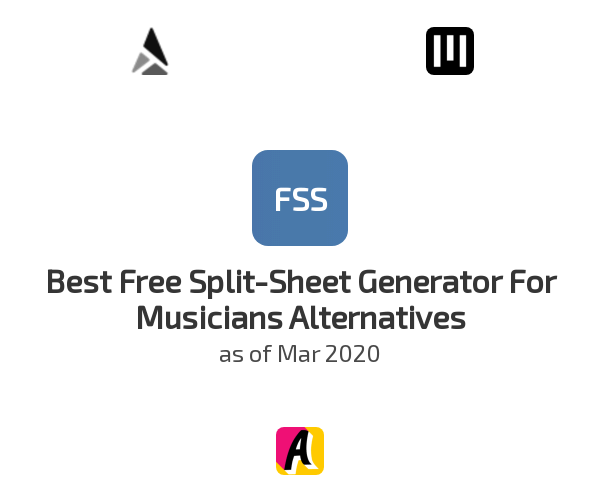 Best Free Split-Sheet Generator For Musicians Alternatives