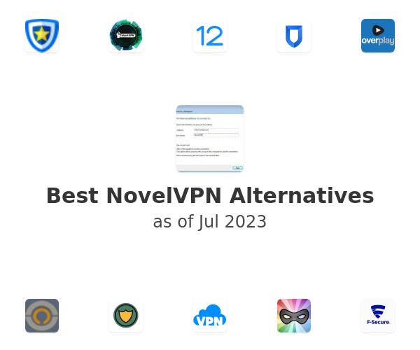 Best NovelVPN Alternatives