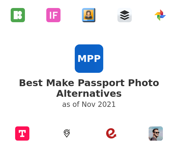 Best Make Passport Photo Alternatives
