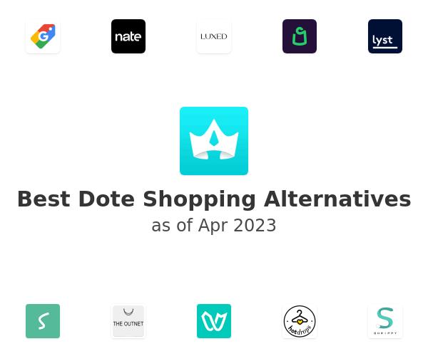 Best Dote Shopping Alternatives