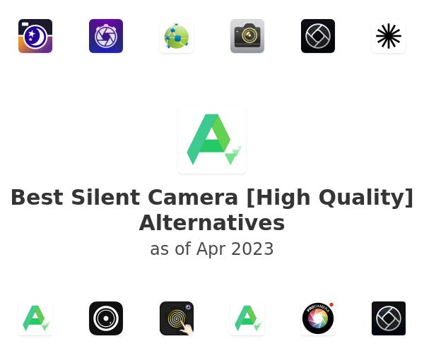 Best Silent Camera [High Quality] Alternatives