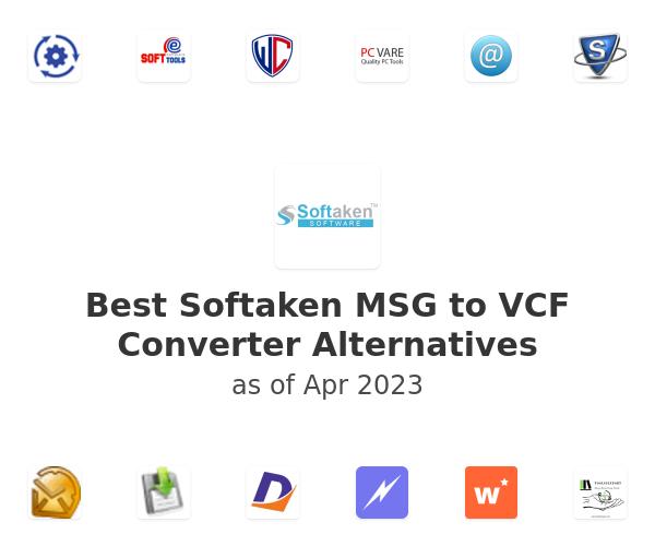 Best Softaken MSG to VCF Converter Alternatives