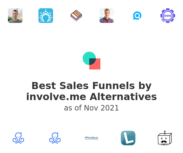 Best Sales Funnels by involve.me Alternatives