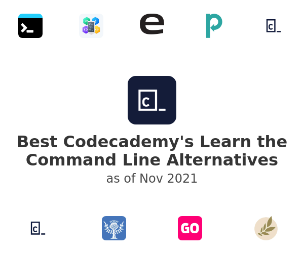 Best Codecademy's Learn the Command Line Alternatives