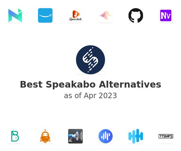 Best Speakabo Alternatives