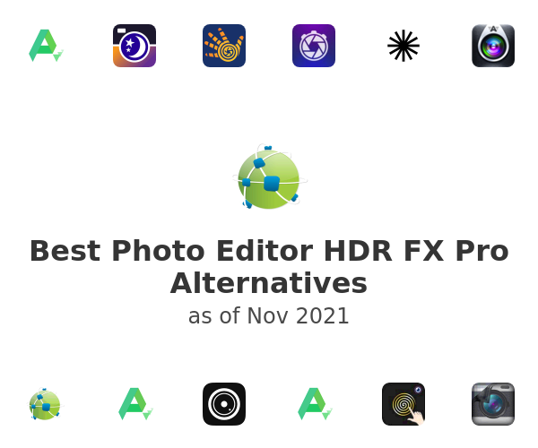 Best Photo Editor HDR FX Pro Alternatives