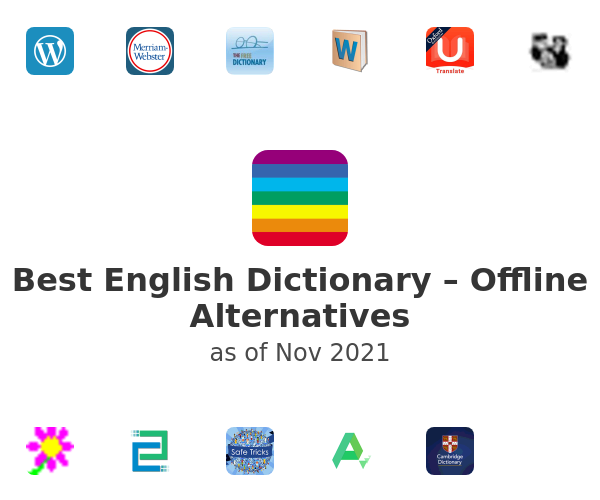 Best English Dictionary – Offline Alternatives