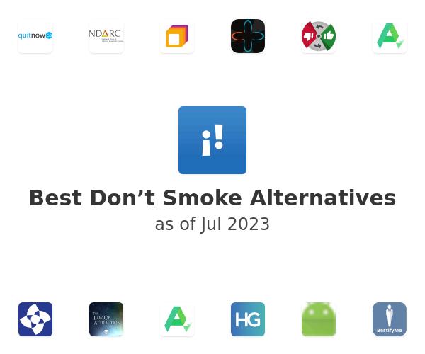 Best Don't Smoke Alternatives