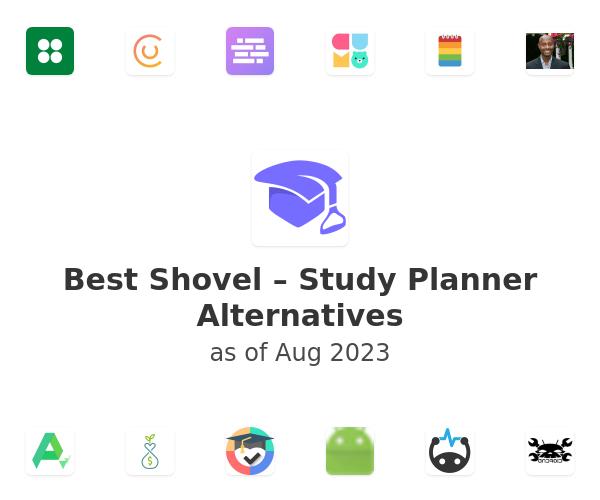 Best Shovel – Study Planner Alternatives