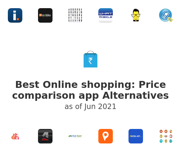 Best Online shopping: Price comparison app Alternatives